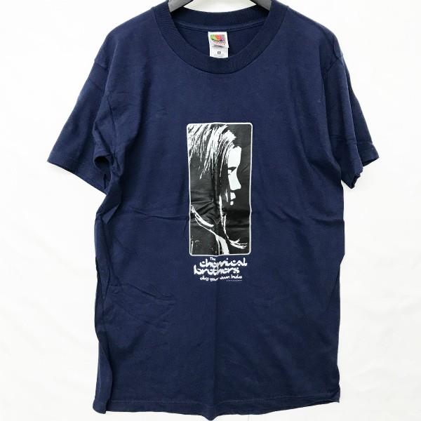 90s USA製 デッドストック chemical brothers Tシャツ(検索 ケミカルブラザーズ UR atari prodigy DHR daftpunk underworld好きに