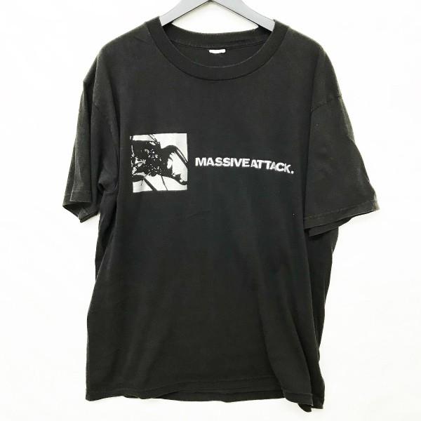 90s Massive Attack mezzanine Tシャツ(検索 マッシブアタック メザニーン ブリストル wildbunch kiyonaga&co gimme5 Bristol 好きに)