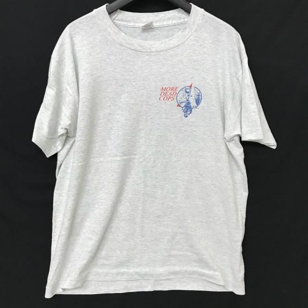 90s USA製 ヴィンテージ MILLIONS OF DEAD COPS Tシャツ(検索 MDC NY hardcore black flag minor threat thrasher ハードコア好きに