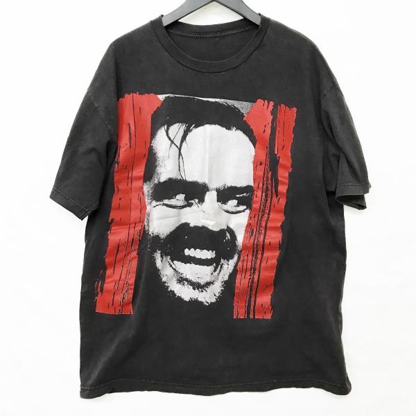 ヴィンテージ SHINING Tシャツ(検索 ムービーT 映画Tシャツ シャイニング Kubrick Jack Nicholson ジャックニコルソン