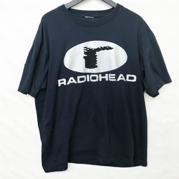 90s ヴィンテージ RADIOHEAD Tシャツ(検索 レディオヘッド トムヨーク atoms for peace creep undercover jonio 好きに