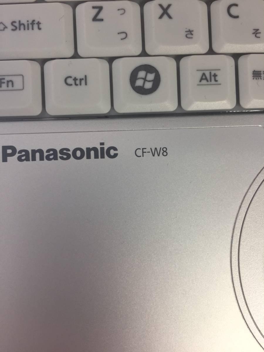 【1円出品】Panasonic ノートパソコン Letsnote CF-W8_画像3
