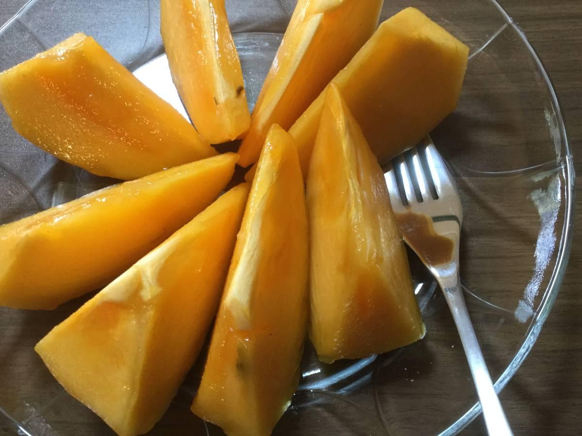 柿の王様 八幡浜名産・富士柿 5kg 柿のマンゴー!_画像8