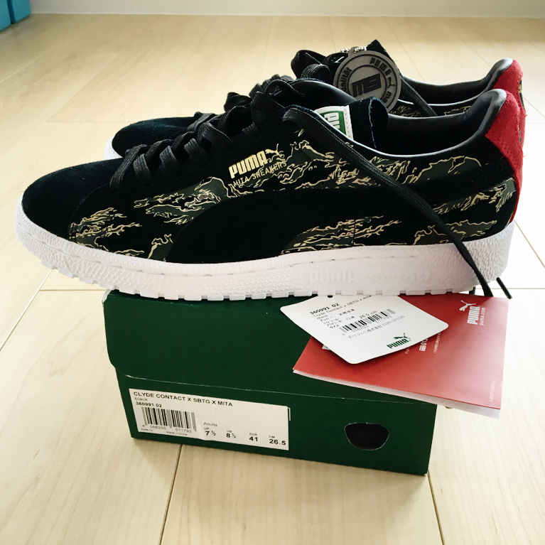 info for 65402 2c109 price decline   rare world 3 store limitation complete sale   new goods  unused Puma Puma CLYDE CONTACT First Contact SBTG x mita sneakers US8.5  26.5cm ...