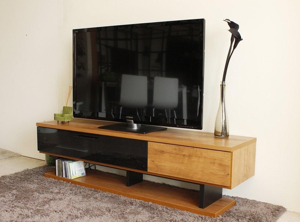 送料無料 機能性重視 ユニークデザイン 国産完成品 スペースを有効利用できる ロータイプ ステーションタイプ TVボード テレビボード