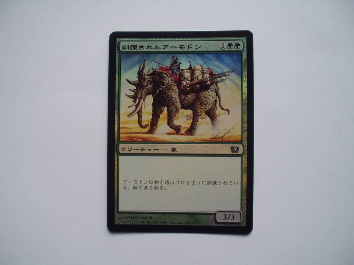 MTG 訓練されたアーモドン/Trained Armodon foil 日語1枚_画像1