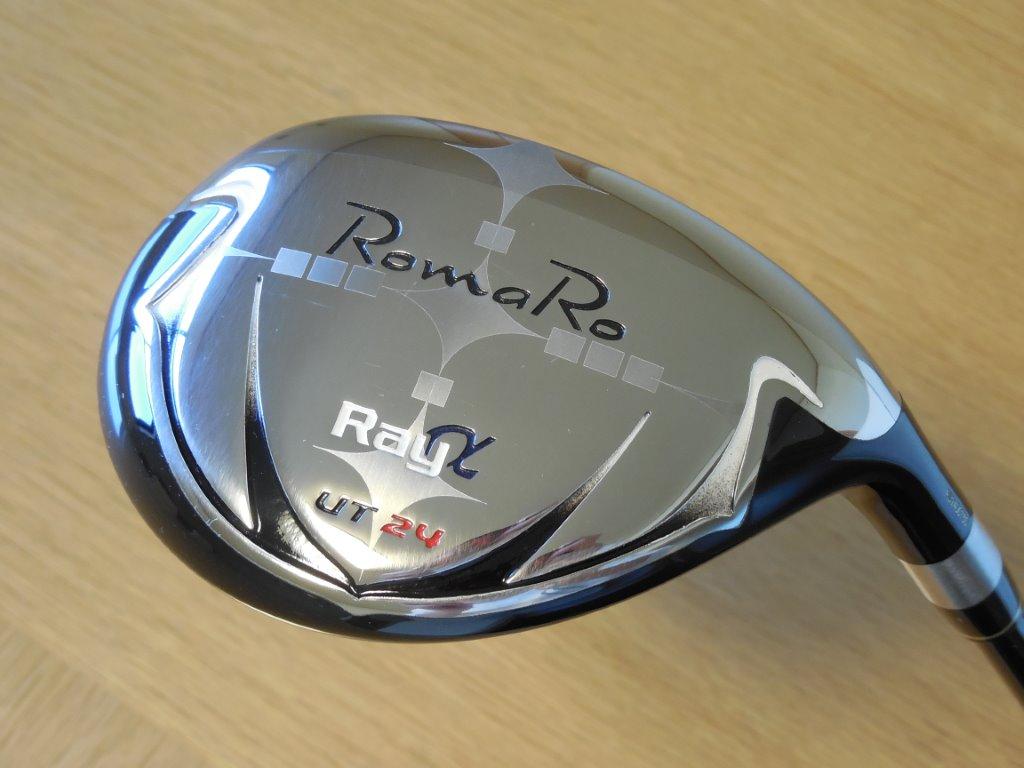 (美品・コース未使用) ロマロ romaro ray α UT24 RJ-TC フレックスS レイ アルフ
