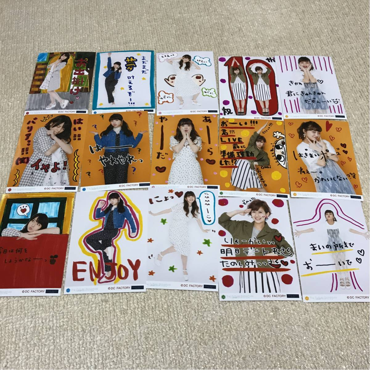 美品 ℃-ute コレクション生写真 フルコンプセット ⑪ ライブグッズの画像