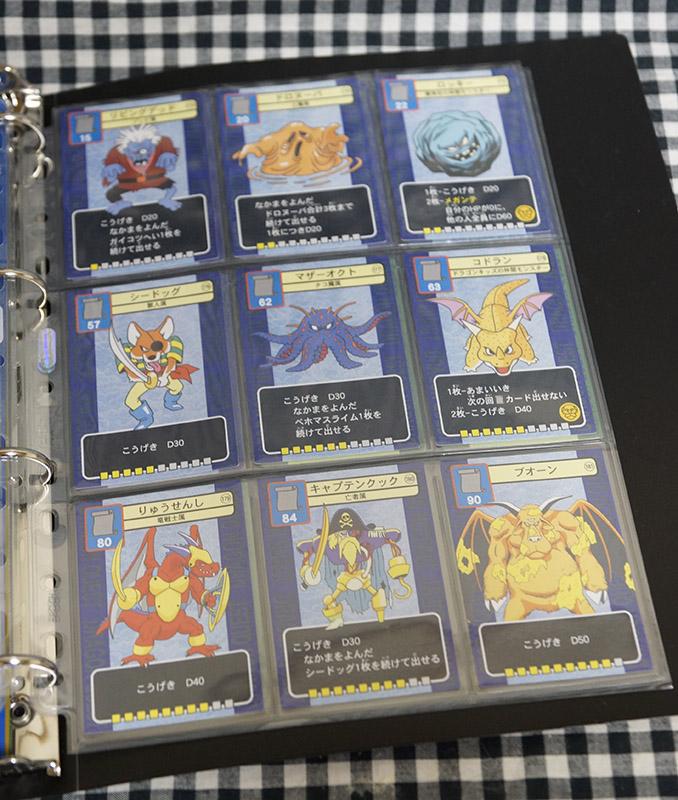 [激レア]ドラゴンクエスト トレーディングバトルカード フルコンプ全212枚+アルバムセット(ドラクエV.VI)_画像8