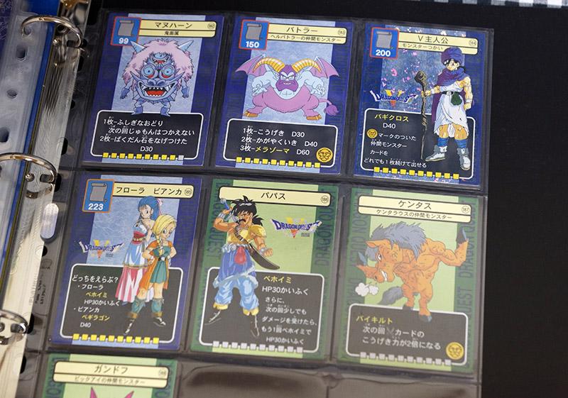 [激レア]ドラゴンクエスト トレーディングバトルカード フルコンプ全212枚+アルバムセット(ドラクエV.VI)_画像6