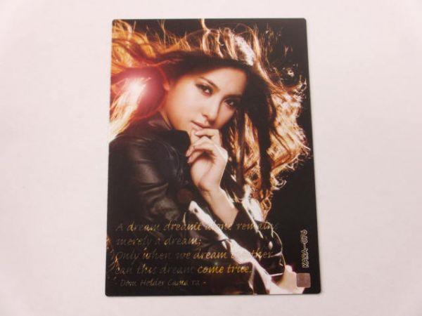 KARA スターコレクションカード/韓国版■ノーマルカード■KARA-076/パク・ギュリ