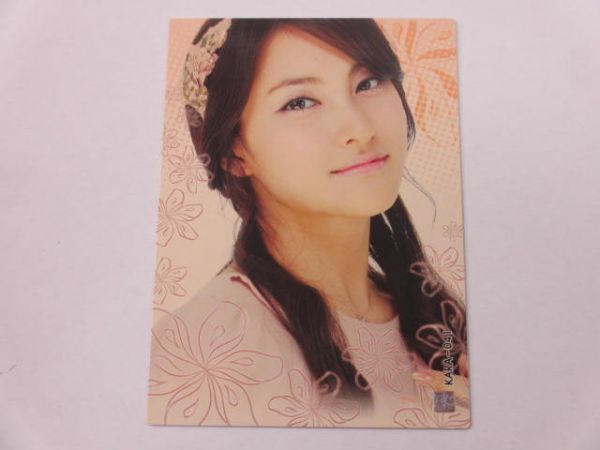 KARA スターコレクションカード/韓国版■ノーマルカード■KARA-041/パク・ギュリ