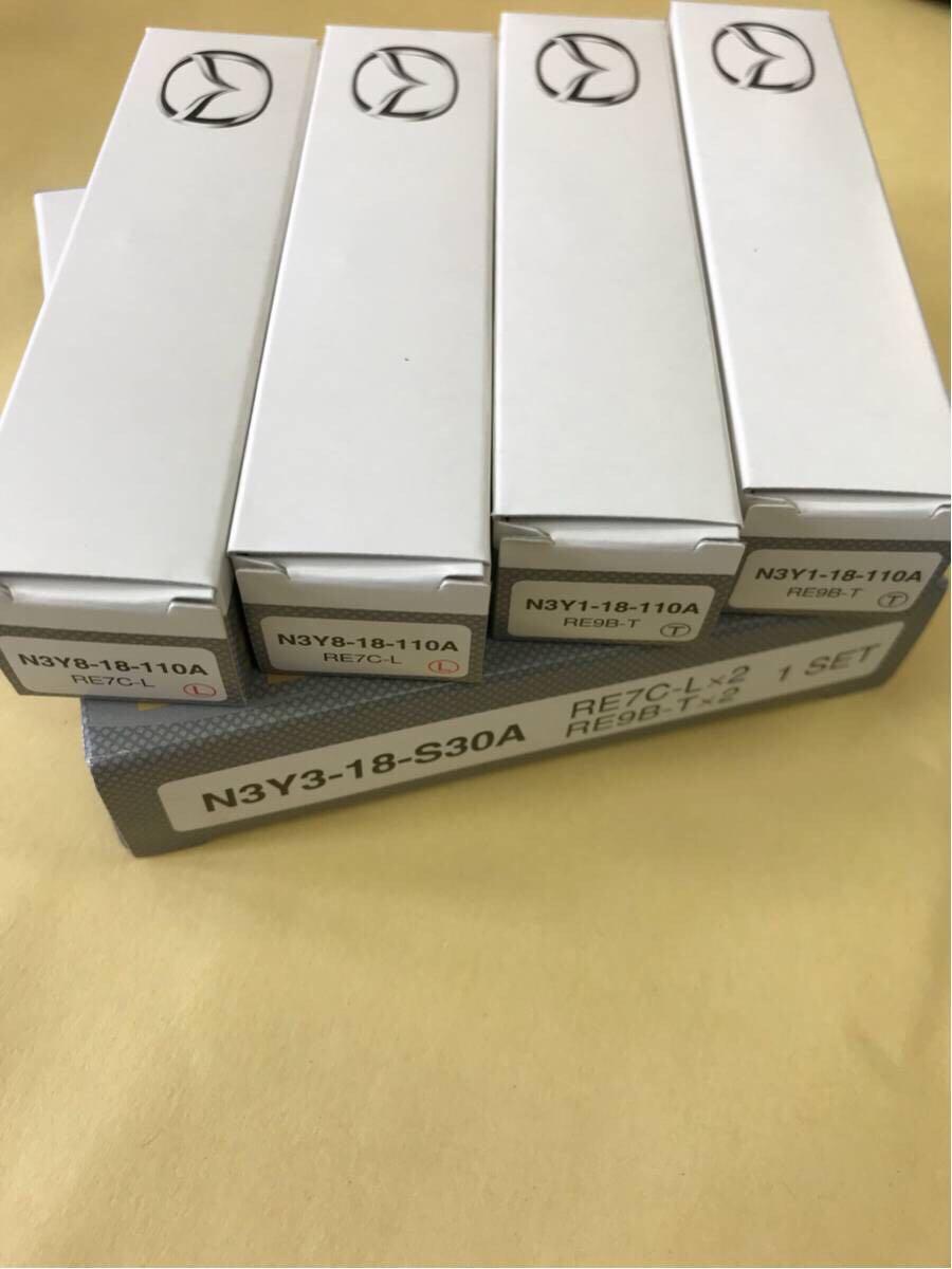 マツダ純正 RX-8 スパークプラグ 4本セットN3Y3-18-S30A ( RE7C-L×2 / RE9B-T×2 )
