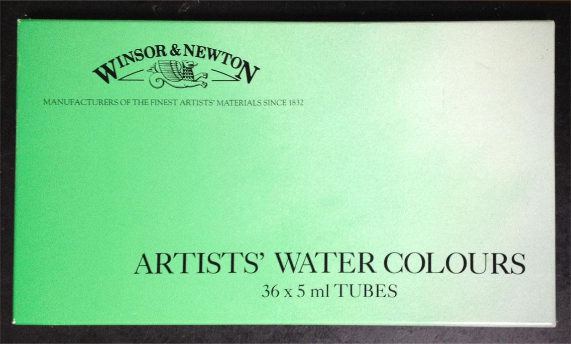 ウィンザー&ニュートン 水彩絵の具36色セット ほぼ新品 送料無料
