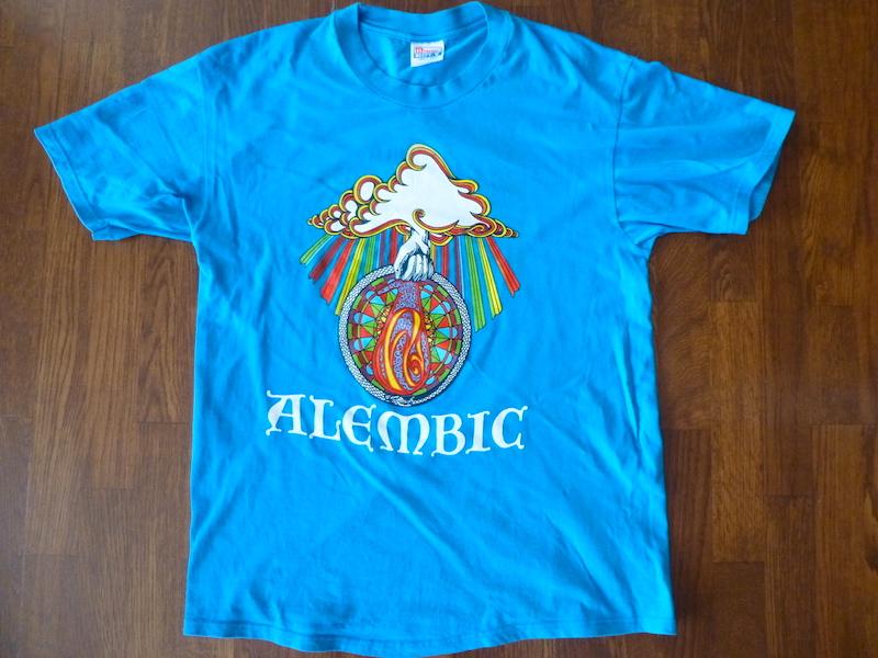 90s アレンビック Tシャツ ■ Alembic ザ・フー フリートウッド マック スタンリー クラーク
