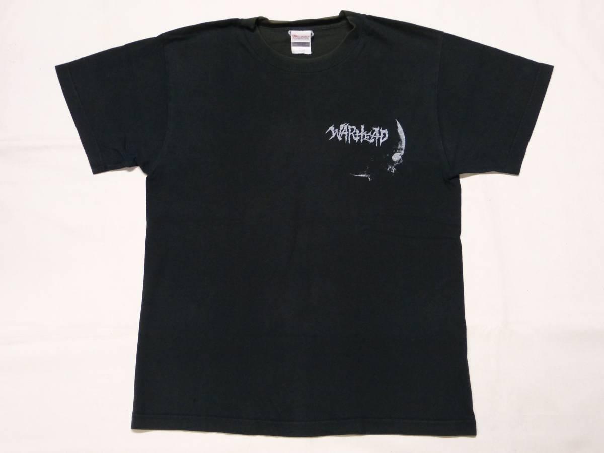 WARHEAD Tシャツ 貴重 EXECUTE GAUZE LIP CREAM DEATH SIDE BASTARD JUDGEMENT SYSTEMATIC DEATH FORWARD GUDON GAS ZOUO パンク 666 GISM