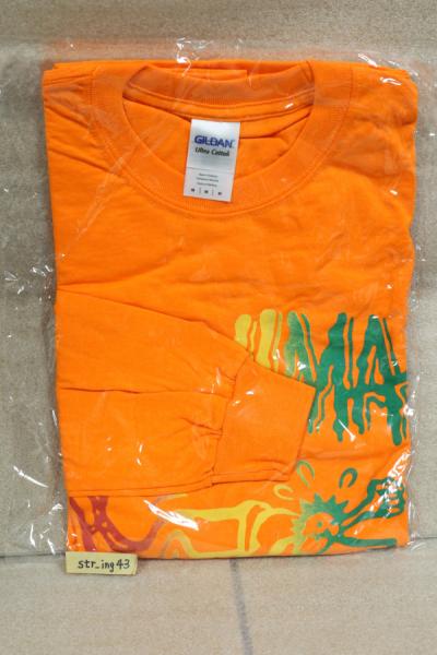 新品 WANIMA ロングTシャツ オレンジ Mサイズ グッズ