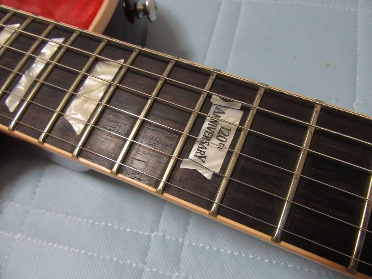 Gibson Lespaul Classic 2014 120th アニバーサリー ギブソン レスポール ヘリテイジチェリーサンバースト 売り切ります!_画像5