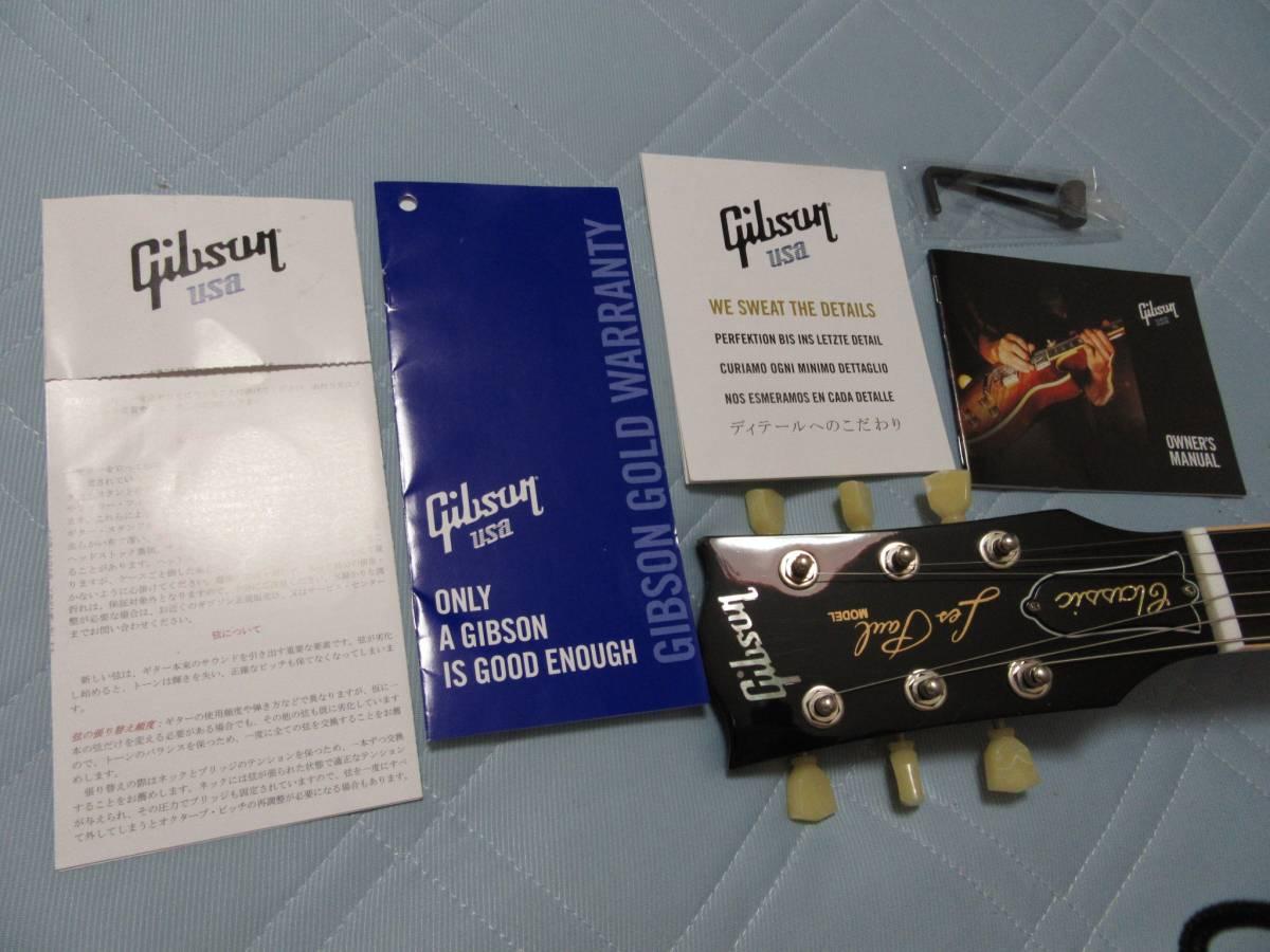 Gibson Lespaul Classic 2014 120th アニバーサリー ギブソン レスポール ヘリテイジチェリーサンバースト 売り切ります!_画像10
