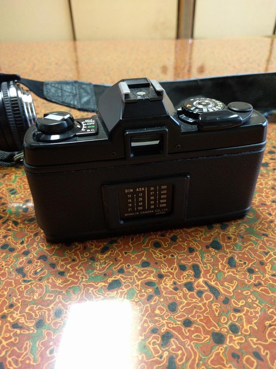 ○MINOLTA ミノルタ XG-E カメラ+シグマ 100-200mm 1:4.5 レンズ (MB-43)_画像4