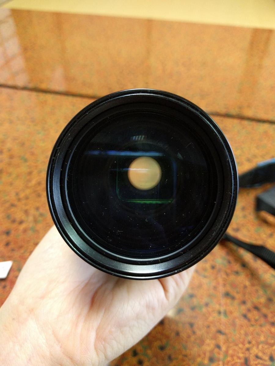 ○MINOLTA ミノルタ XG-E カメラ+シグマ 100-200mm 1:4.5 レンズ (MB-43)_画像8