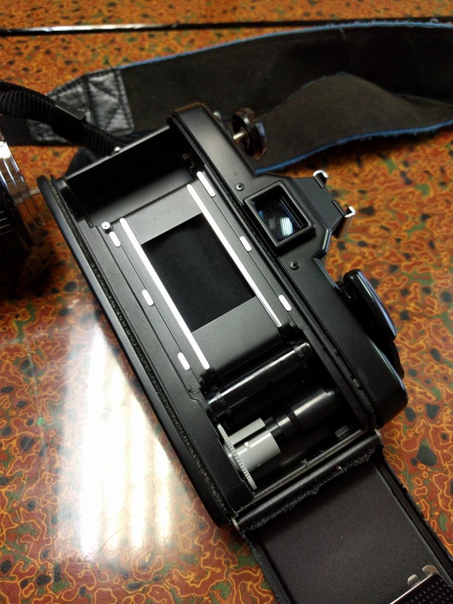 ○MINOLTA ミノルタ XG-E カメラ+シグマ 100-200mm 1:4.5 レンズ (MB-43)_画像6