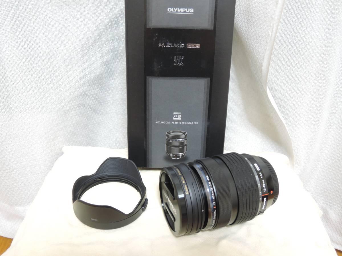 ■美品■オリンパス■M.ZUIKO DIGITAL ED 12-40mm F2.8 PRO■レンズ■