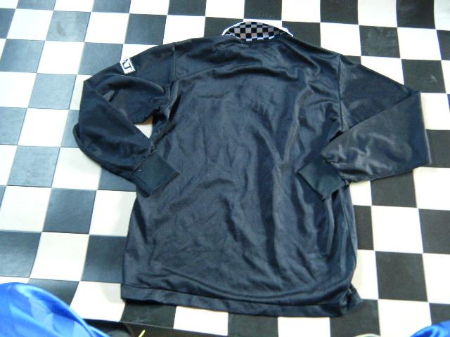 アシックス ラクロス レフリーシャツ サイズL 黒 G7127