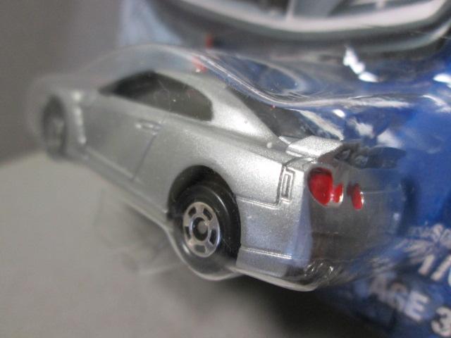 ク-ルドライブ TCD01 日産 GT-R シルバー 1/61 Nissan GT-