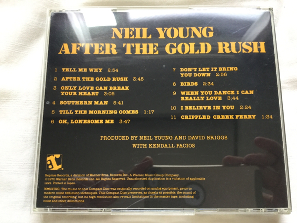 Neil Young After The Gold Rush ニールヤング 国内盤 歴史的名盤_画像3