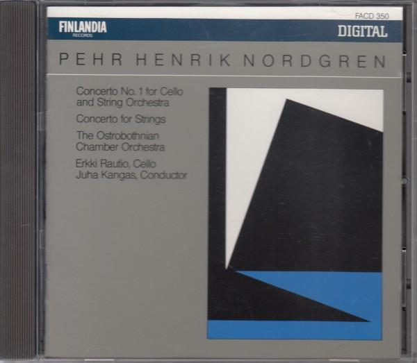◆送料無料◆ペール・ヘンリク・ノルドグレン:チェロ協奏曲第1番、弦楽のための協奏曲~エルッキ・ラウティオ 他 Import C2078
