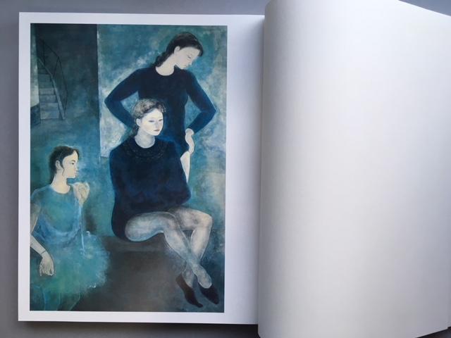 石本正 自選画集 集英社 限定 1450部 額装用素描画付_画像5