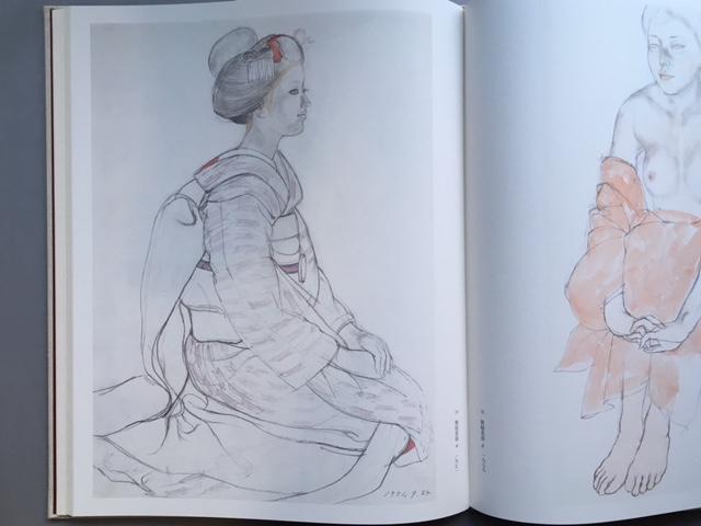 石本正 自選画集 集英社 限定 1450部 額装用素描画付_画像8