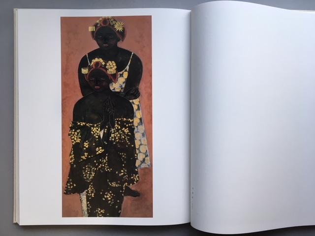 石本正 自選画集 集英社 限定 1450部 額装用素描画付_画像7