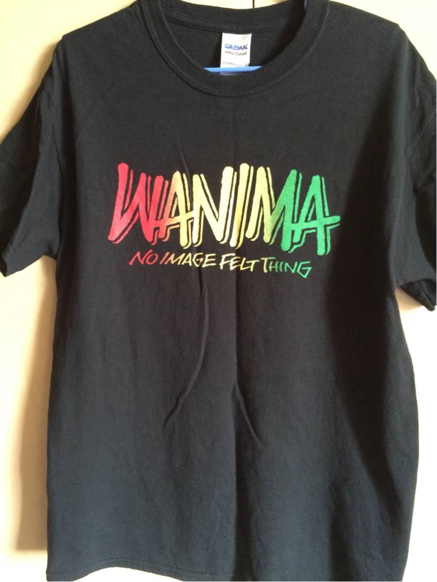 WANIMA ロゴ Tシャツ Mサイズ pizza of death