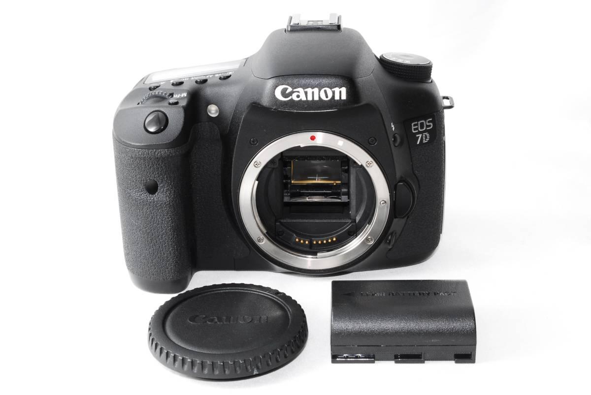 【美品】 キヤノン CANON EOS 7D 18.0MP 大人気デジタル一眼レフカメラ