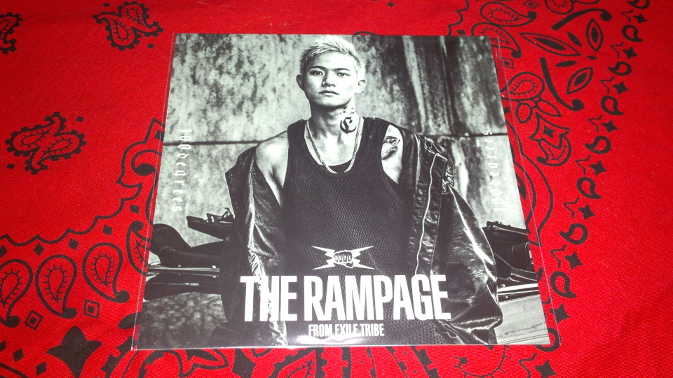 THE RAMPAGE from EXILE TRIBE 100degrees 特典 グッズ アザージャケットカード 岩谷翔吾
