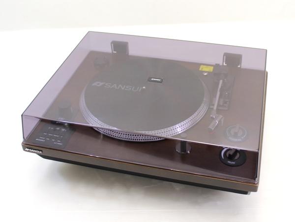 【SANSUI/サンスイ】Bluetooth機能搭載レコードプレーヤー SLP-5000BT/sd0519