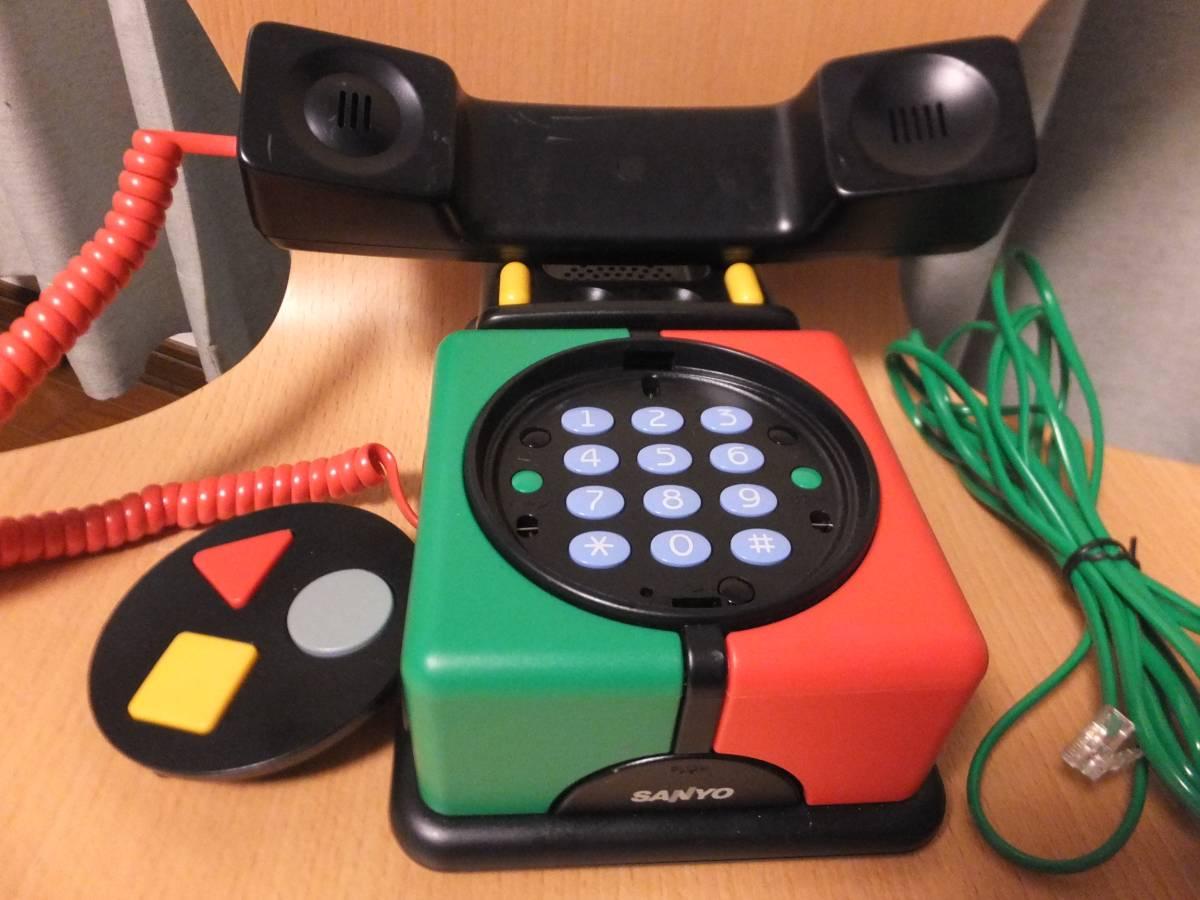SANYO ROBOシリーズ デザイン電話 USED 使用可 80年代?_画像2