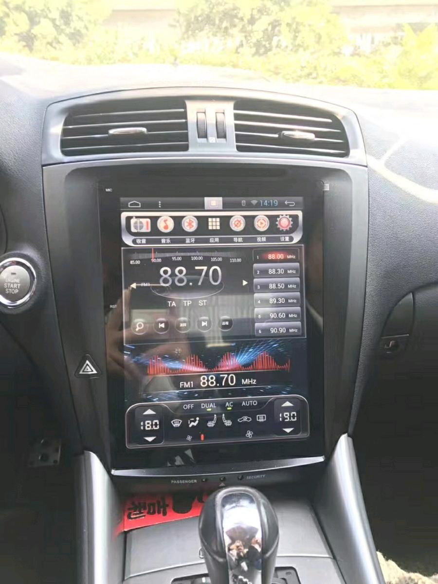 テスロイド レクサス IS250,300,350(2005-13年)年式 車種専用car Android system カスタマイズ次第で多機能 ドラレコカメラ OBD2 TSPS付