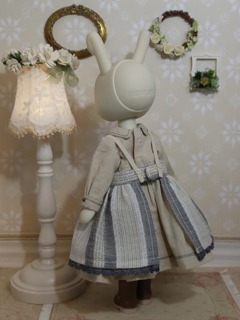imda1.7・うさぎぃ・PF Sugar・ピュアニーモXS 用 お洋服セット_画像4