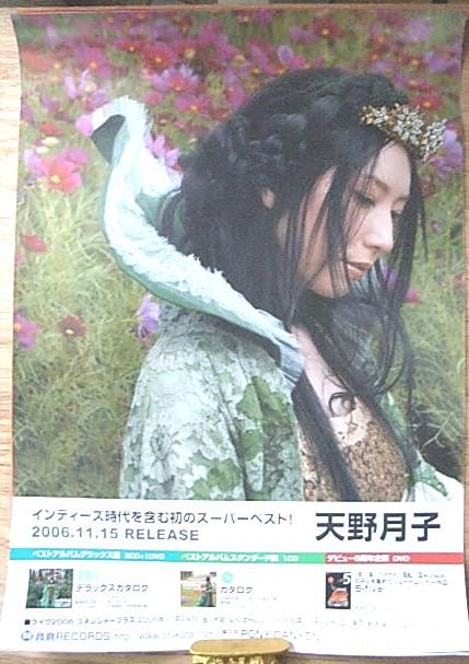 天野月子 「デラックスカタログ」 ポスター