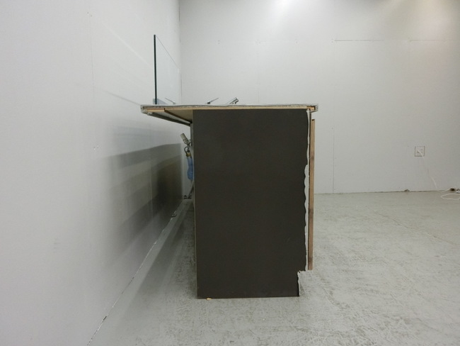 ◆展示品/タカラスタンダード/対面型システムキッチン/木目調/食洗器付/石天板/高級◆_画像3