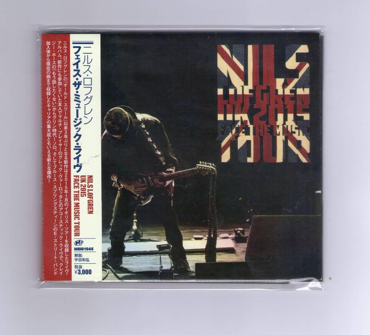 ニルス・ロフグレン nils lofdgren /フェイス・ザ・ミュージック・ライヴ 解説付 1900円即決!_画像1