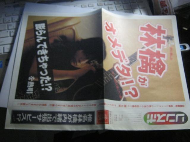椎名林檎 / 風雲ディストーション 四・五合併 FC会報 東京事変 亀田誠治