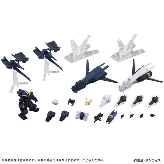 ガンダムモビルスーツアンサンブル EX03 新品 ヘイズル改(ティターンズカラー) + ヘイズル改 フルドド MS武器セット フィギュア ガンプラ_画像7