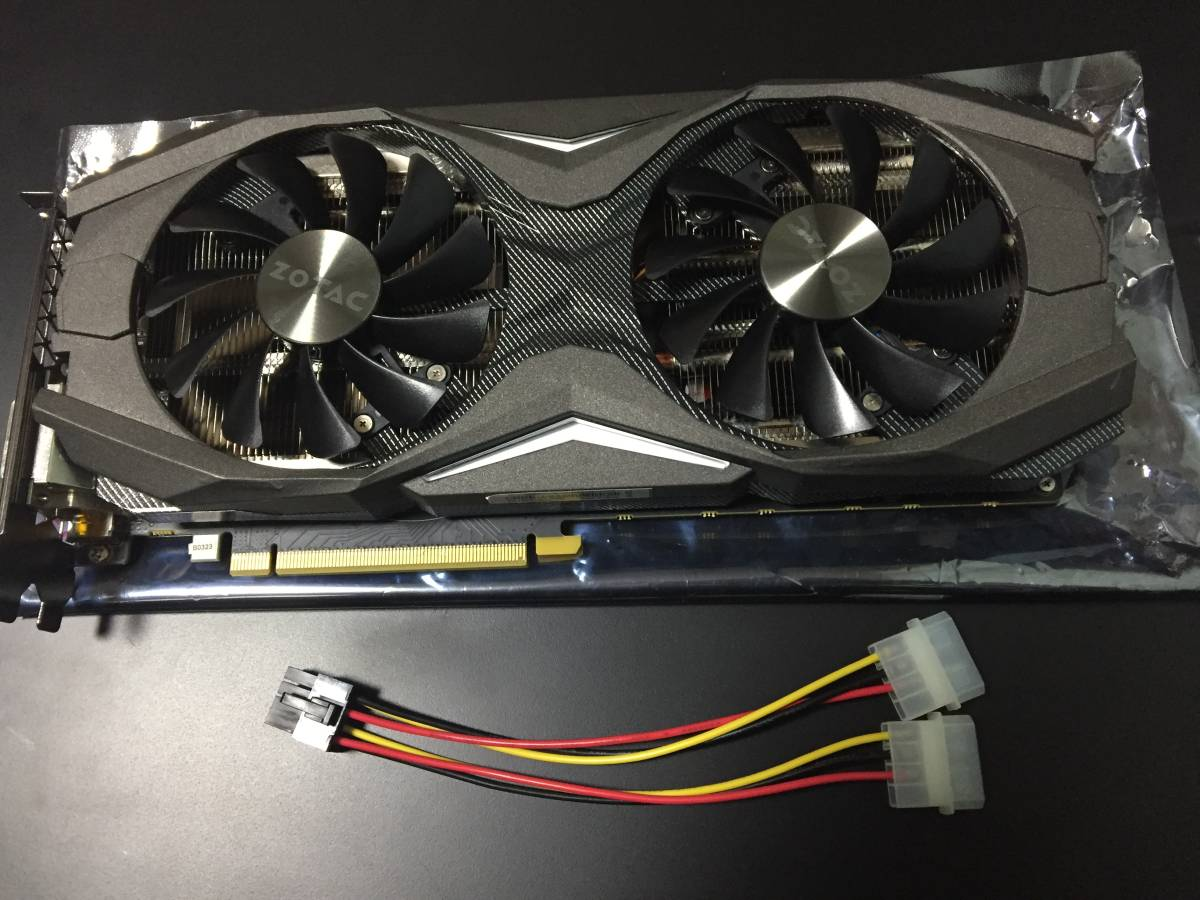 ★送料無料★ZOTAC GeForce GTX1080 AMP EDITION ZT-P10800C-10P