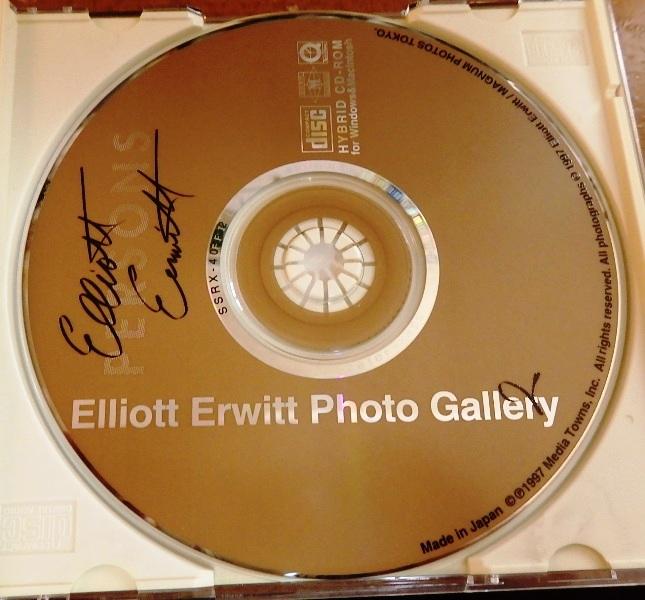 Elliot Erwit Photo Gallery2【CD-ROM写真集】 エリオット アーウィット フォトギャラリー2 Win Mac win7 64bit 作動確認済み _画像4