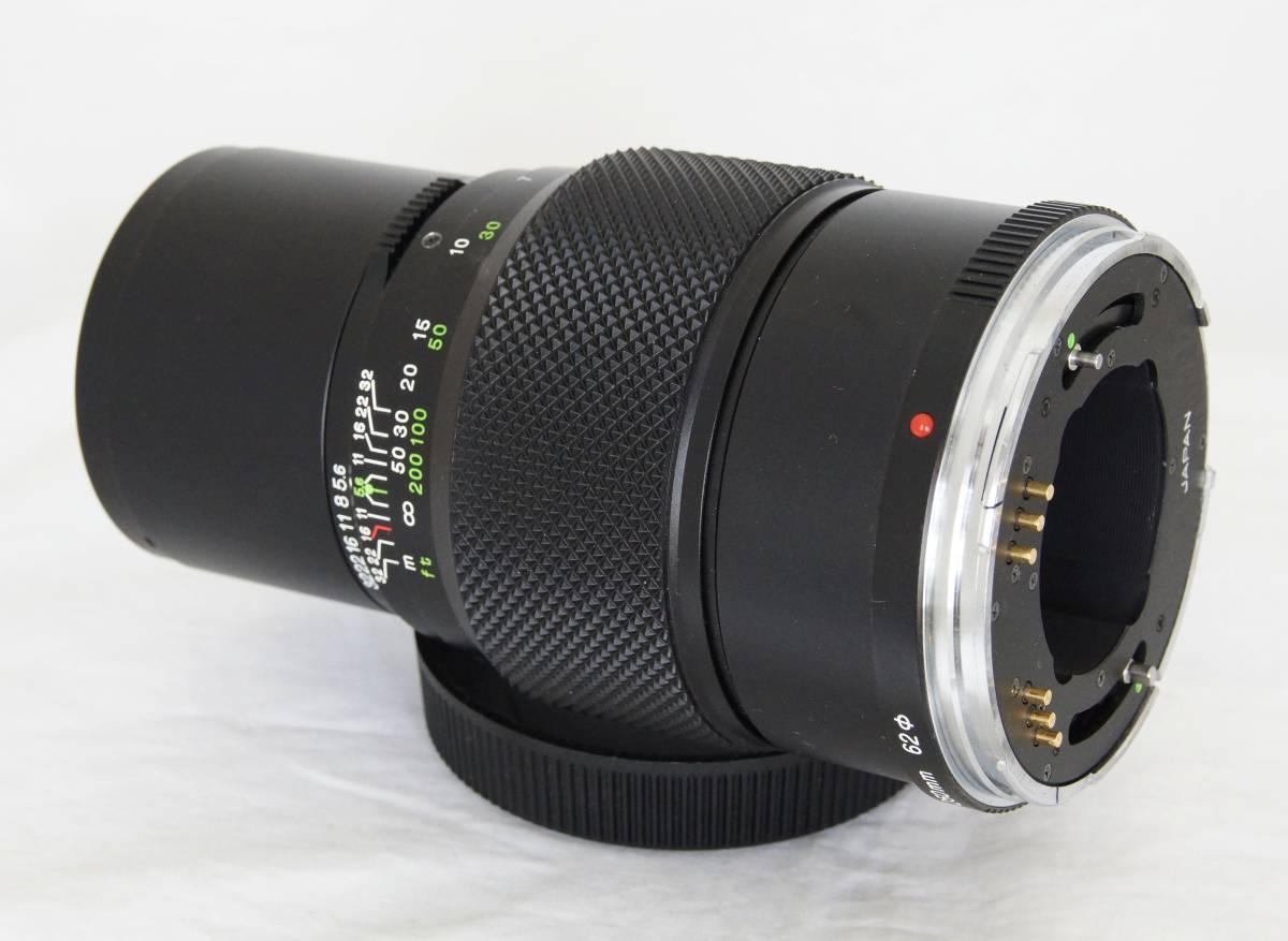 ★ブロニカBRONICA ETRS用 ZENZANON MC 250mm F5.6 フード付き_画像7