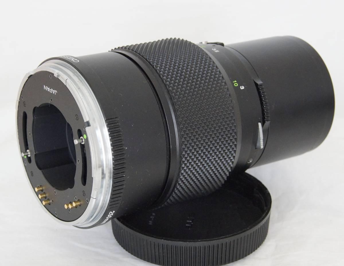 ★ブロニカBRONICA ETRS用 ZENZANON MC 250mm F5.6 フード付き_画像8